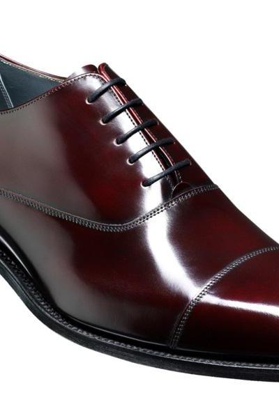 Luxury Maroon Color Handmade Newly Design Genuine Leather Oxford Shoes For Men
